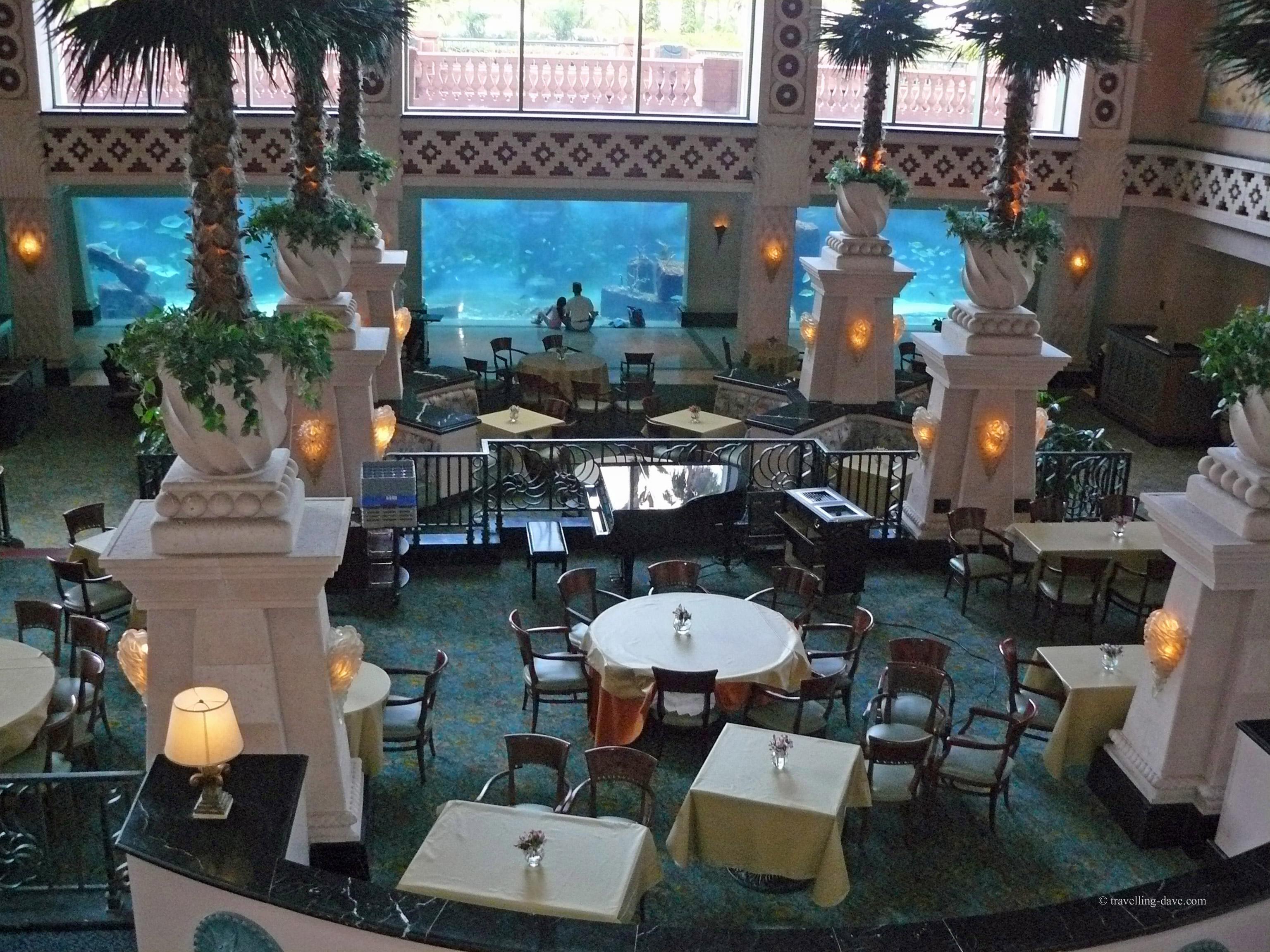 One of Atlantis Resort restaurants in the Bahamas