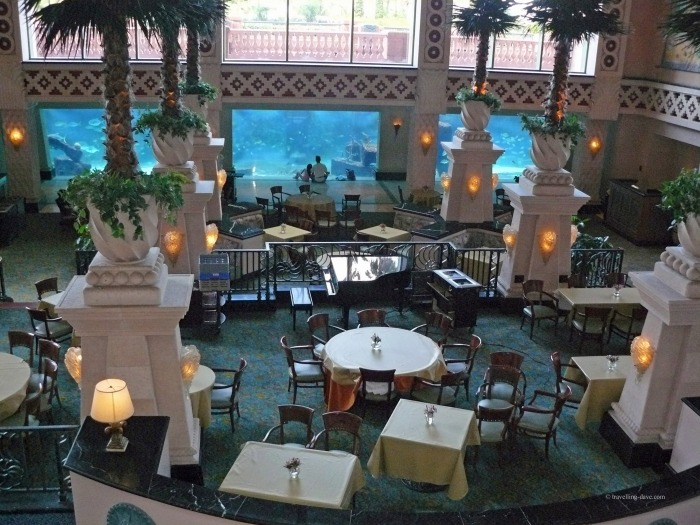 One of Atlantis Resort restaurants in the Bahamas