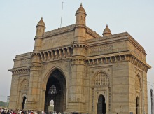 View of the famous Gateway of India in Mumbai
