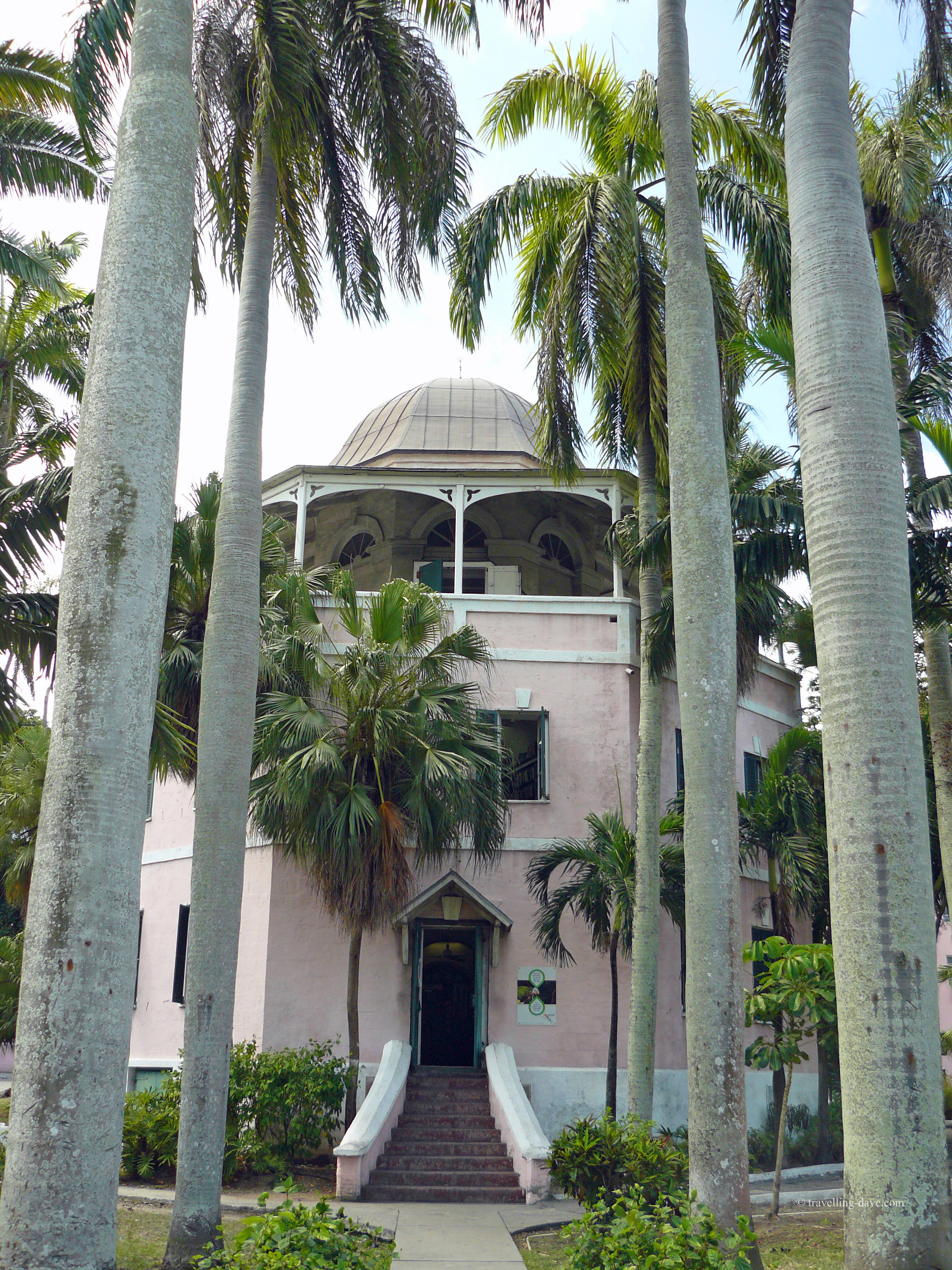 The building housing Nassau Public Library in the Bahamas.