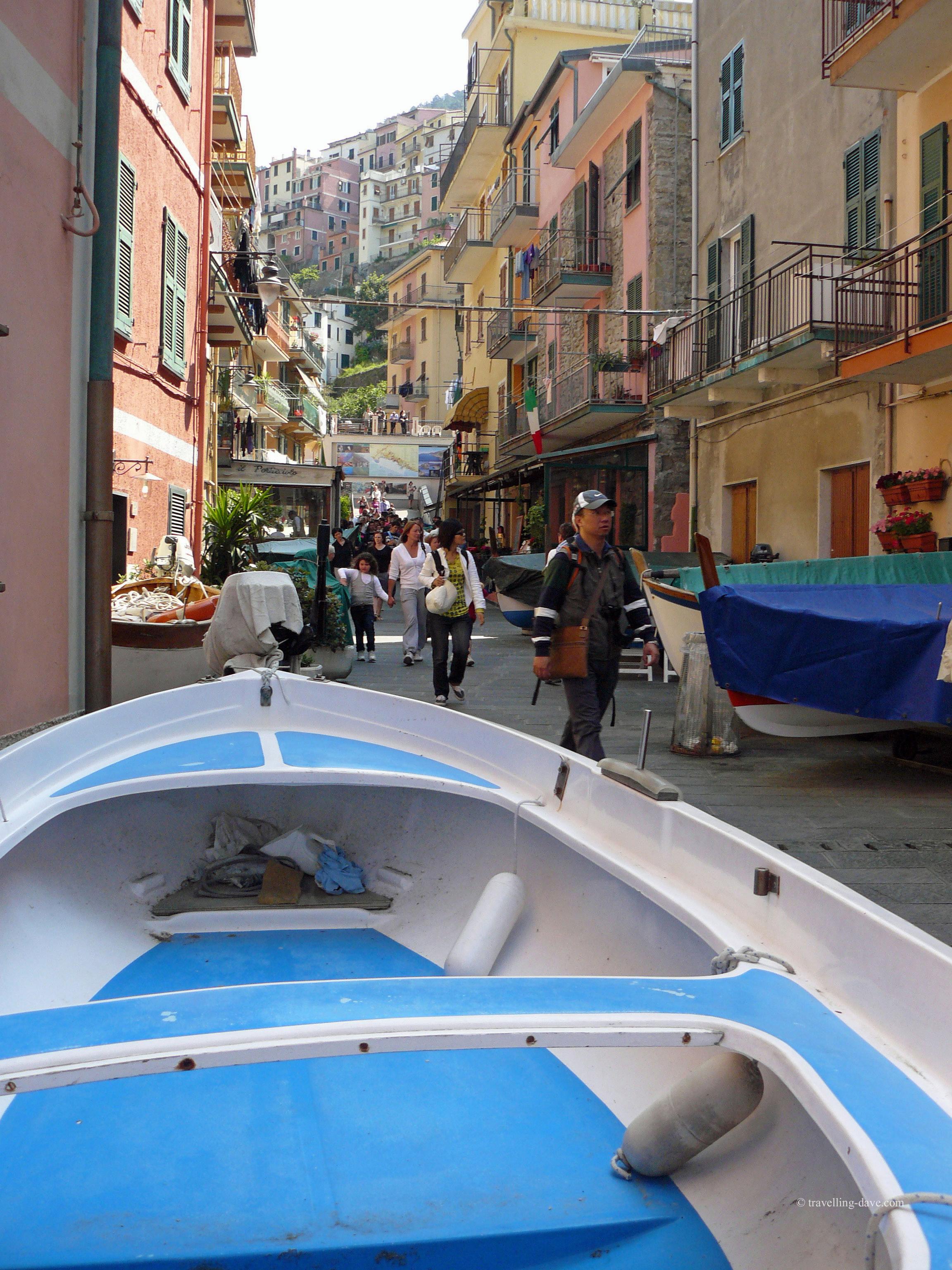 Photo of Manarola, one of the Cinque Terre