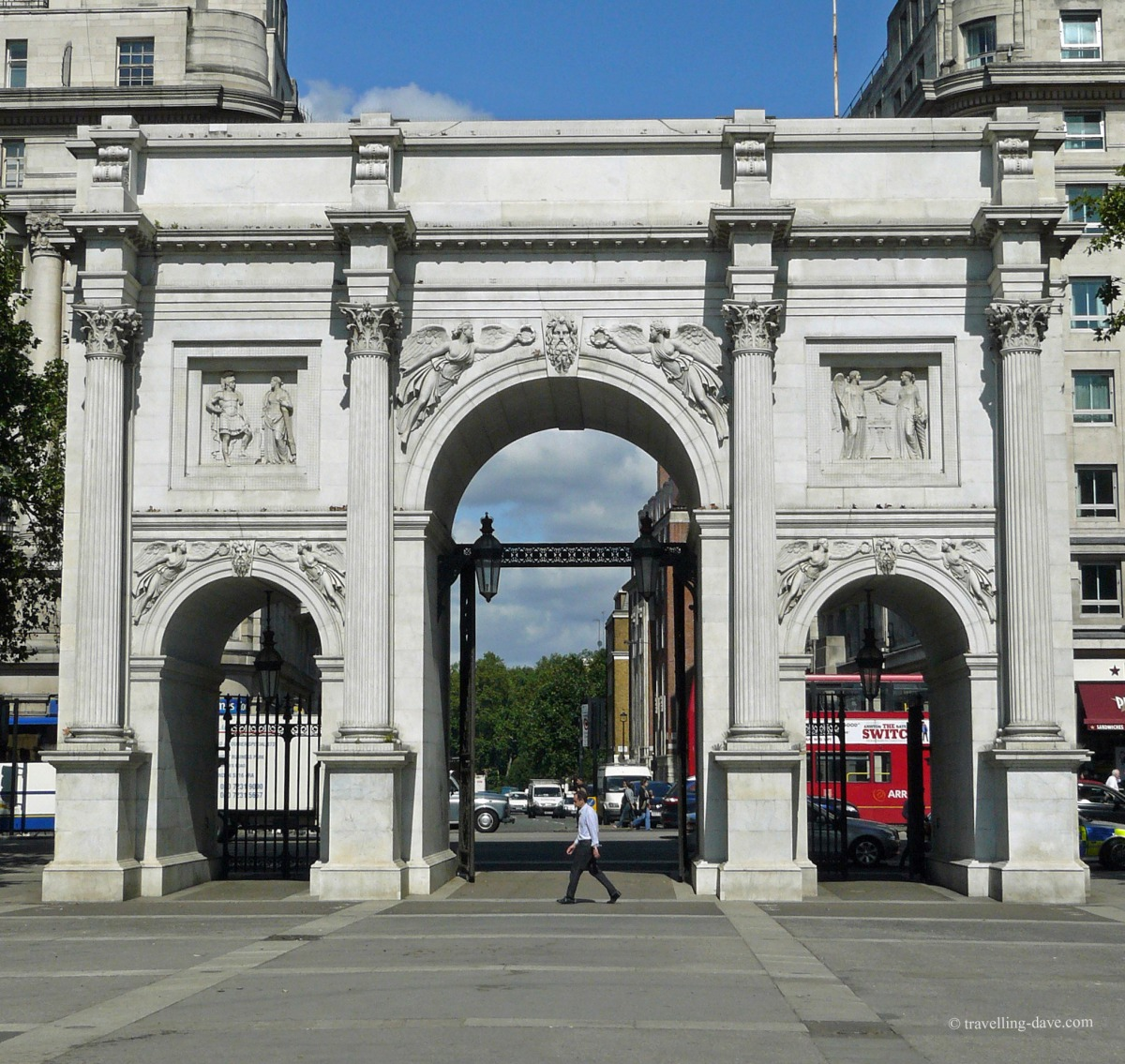 View of London's Marble Arch