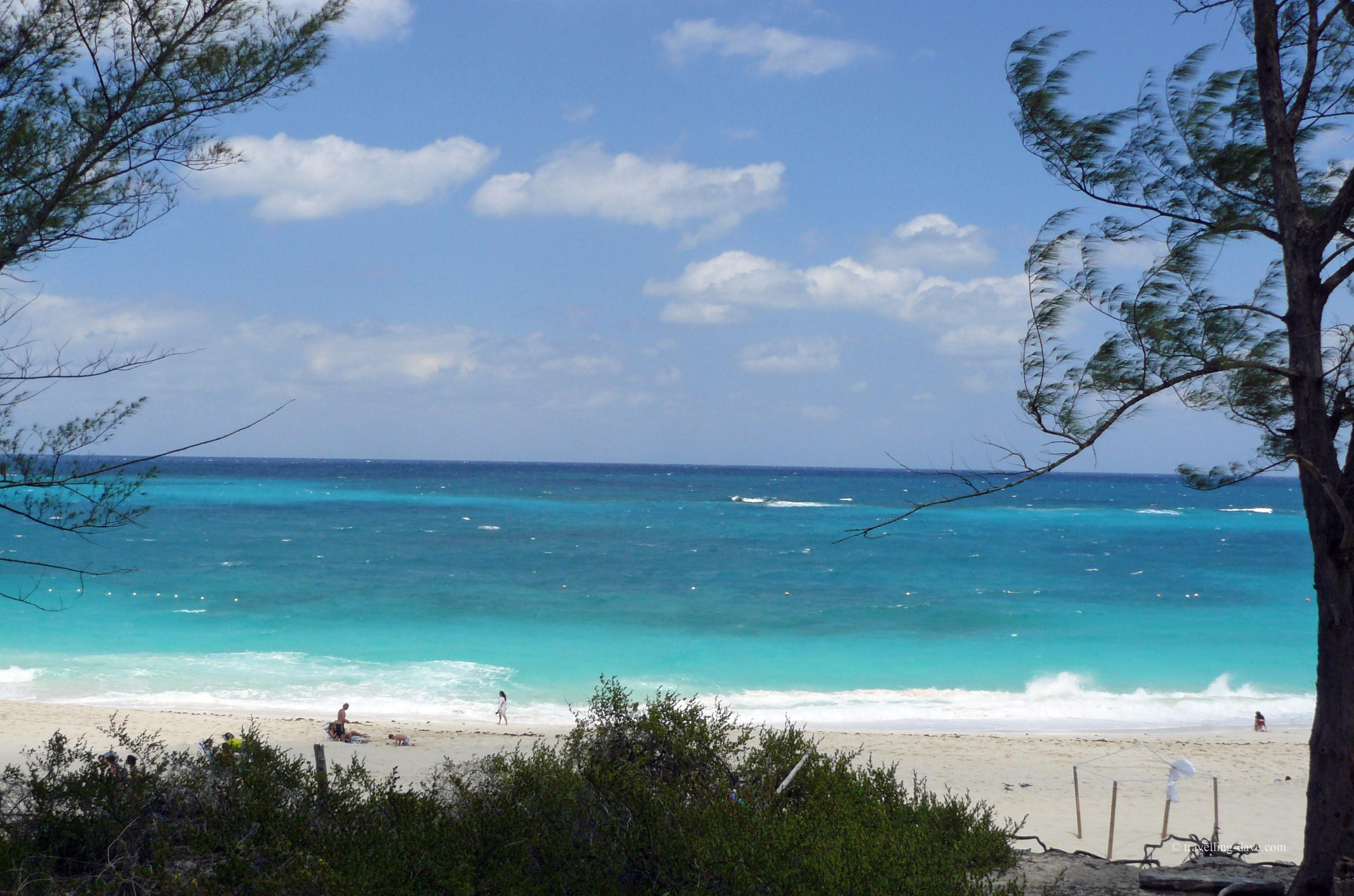 One of Nassau's beautiful beaches