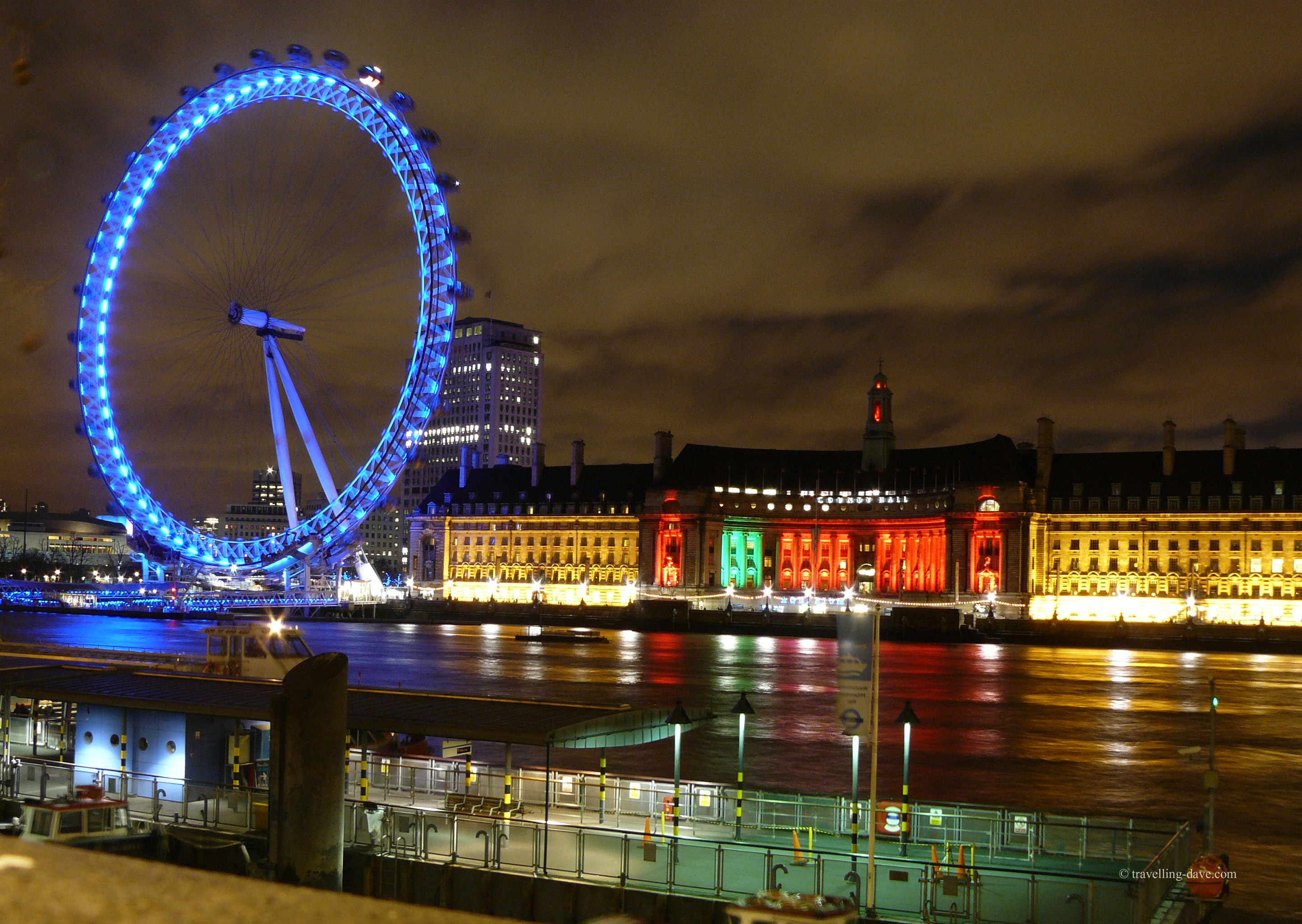 Evening on London's Southbank