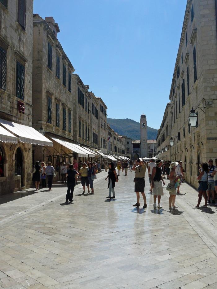 View of Dubrovnik's Stradun