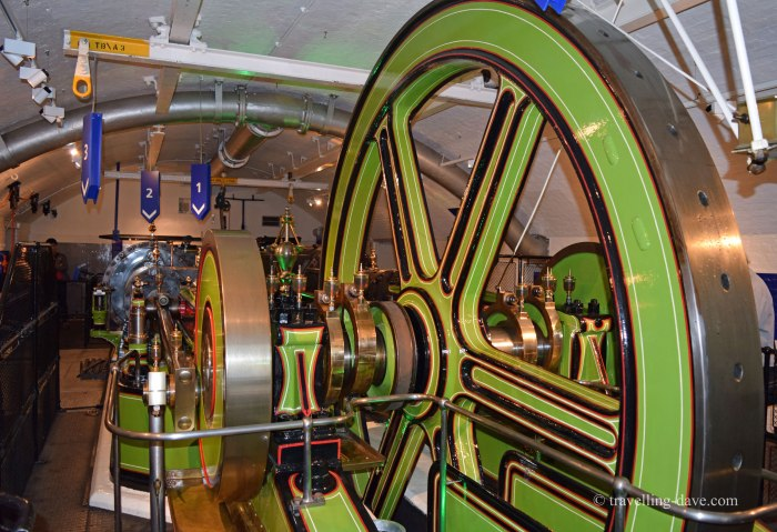 View inside Tower Bridge Engine Room
