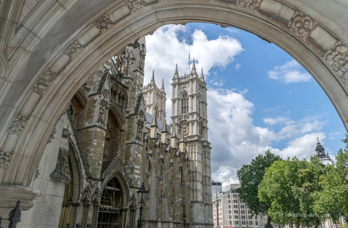 View of London's Westminster Abbey