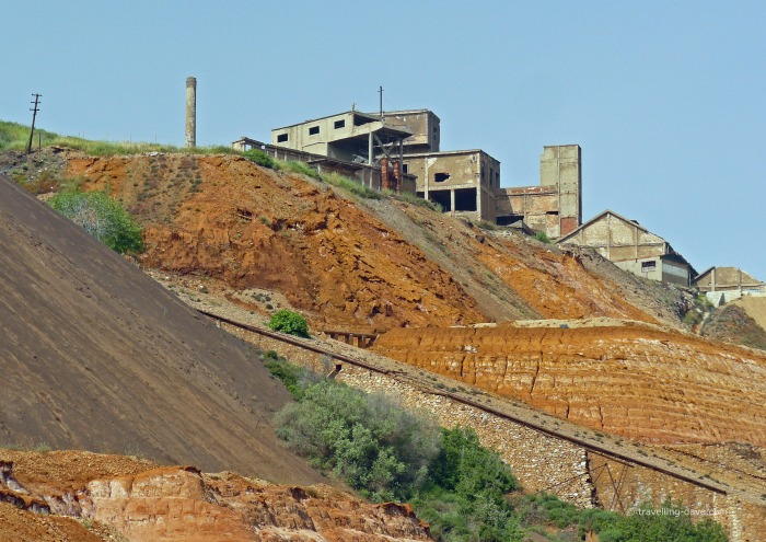 One of Sardinia abandoned mines