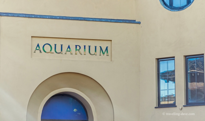 Entrance to London Zoo Aquarium