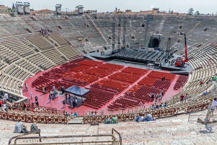 Panoramic view of the Arena di Verona