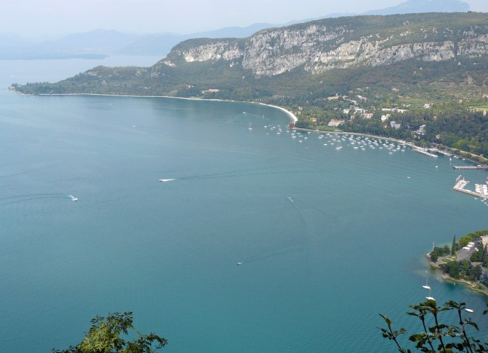 View from the top of the Rock in Garda