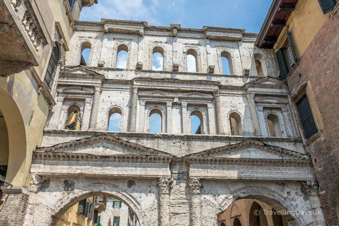 View of Verona Porta Borsari