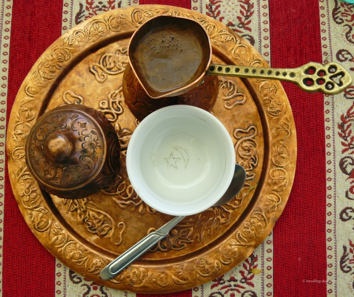 Traditional Bosnian coffee set