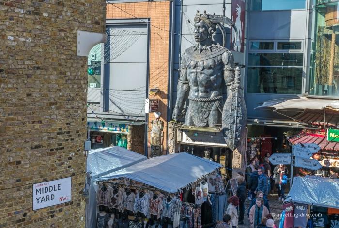 Stalls at London Camden Market