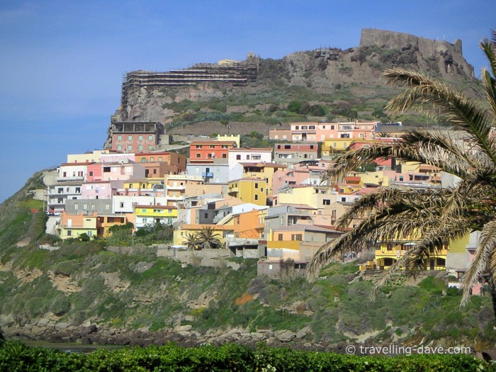 View of the village of Castelsardo