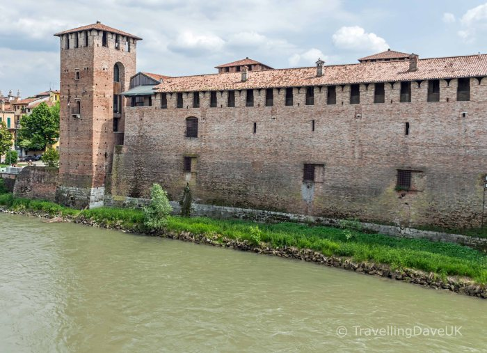 View of Castelvecchio in Verona