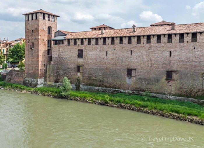 View of Castelvecchio in Verona