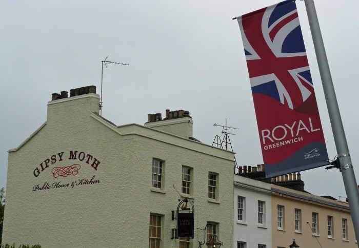 Royal Greenwich flag