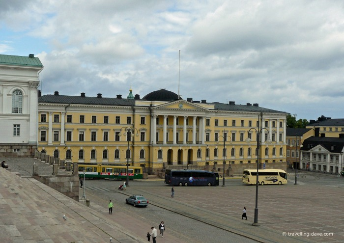 View of Helsinki Government Palace