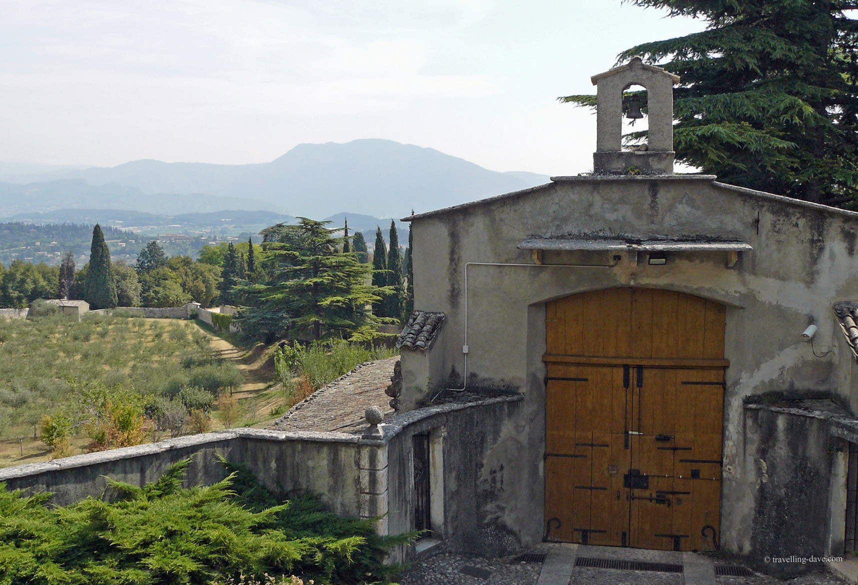 Hermitage St.George main entrance, Garda, Italy