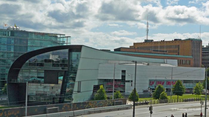 View of Helsinki Kiasma Museum