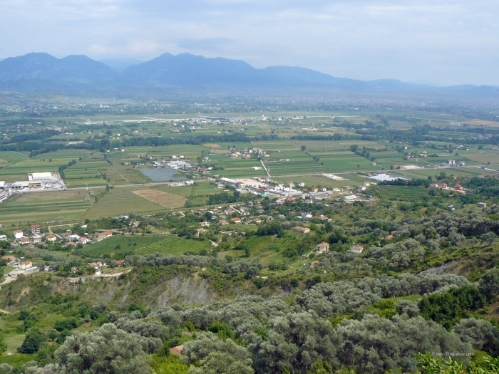 The green Albanian Lowlands