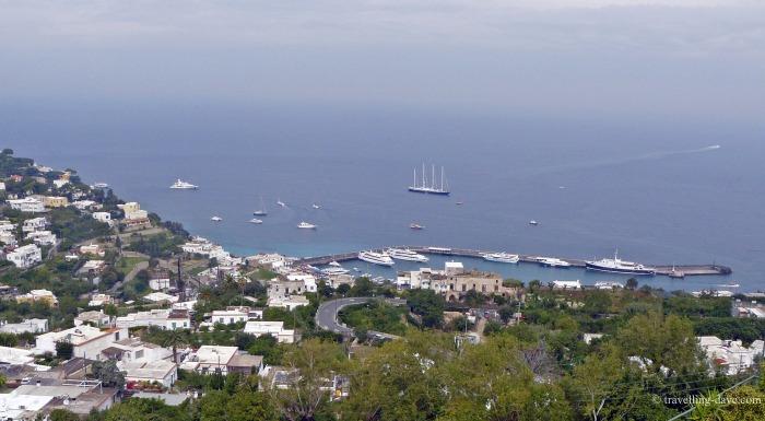 Marina Grande seen from Capri
