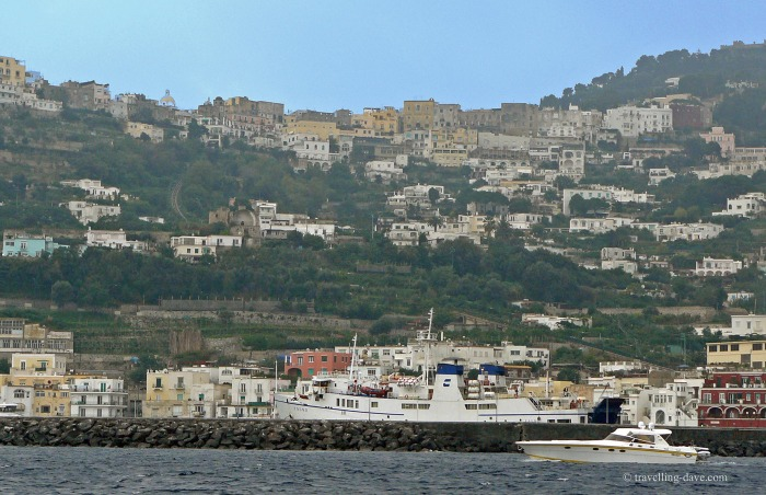 View of Capri's Marina Grande