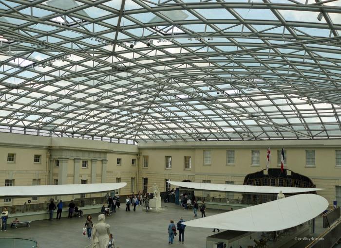 A view inside Greenwich Maritime Museum