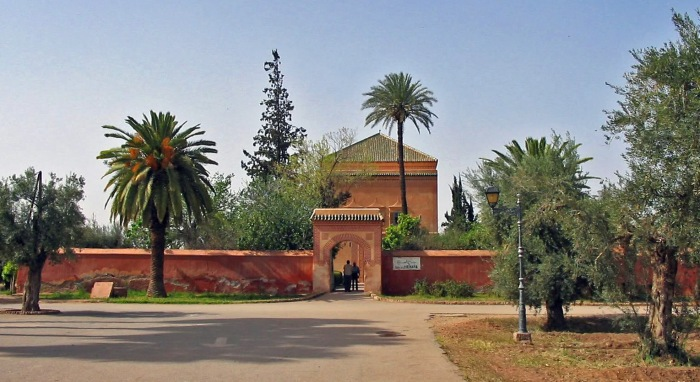 View of Marrakech Menara Gardens