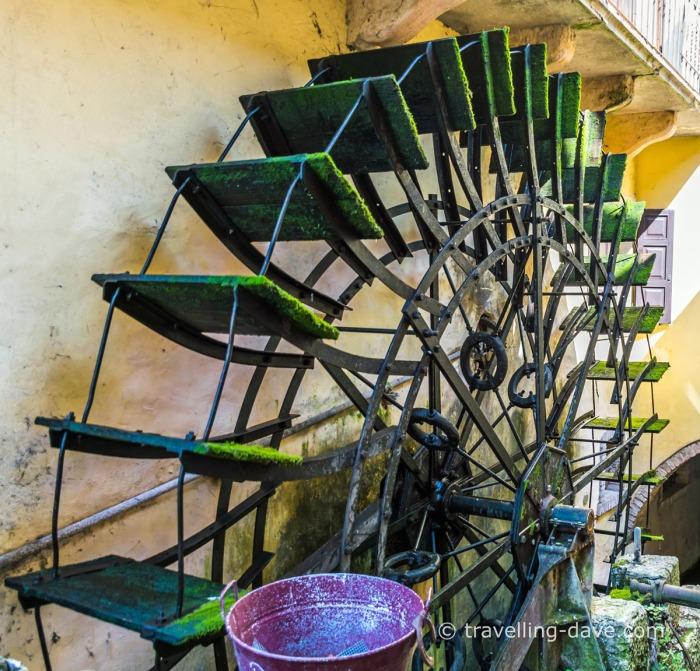 Borghetto sul Mincio mill wheel