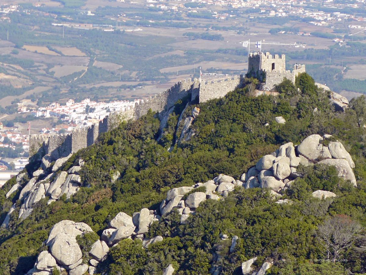 View of Sintra Moorish Castle