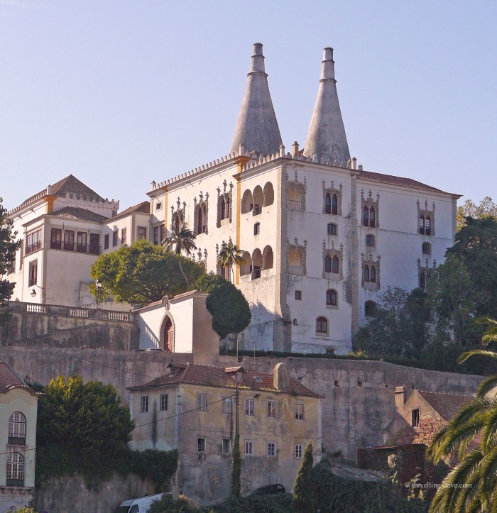 View of Sintra National Palace