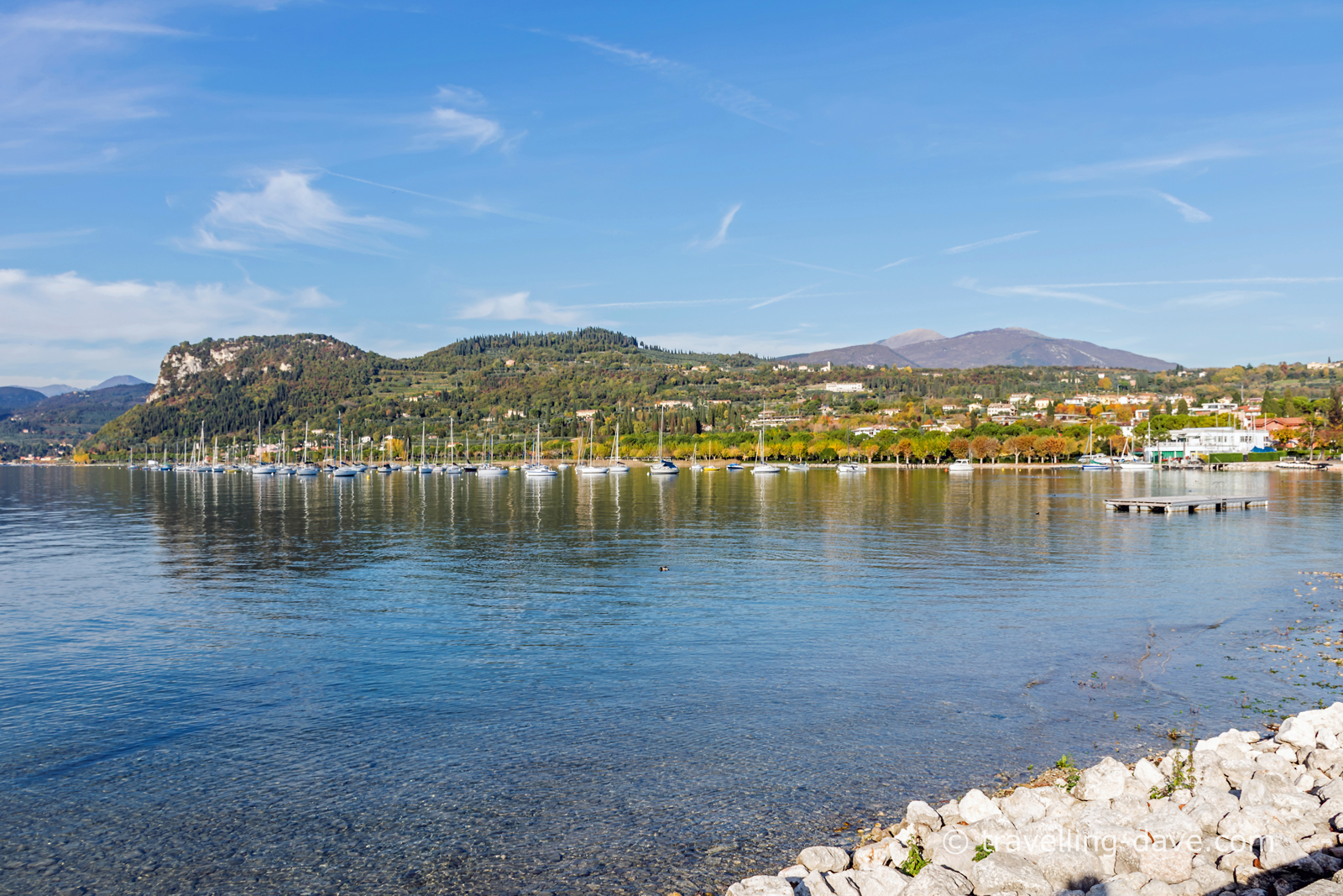 Lake Garda on a calm November day