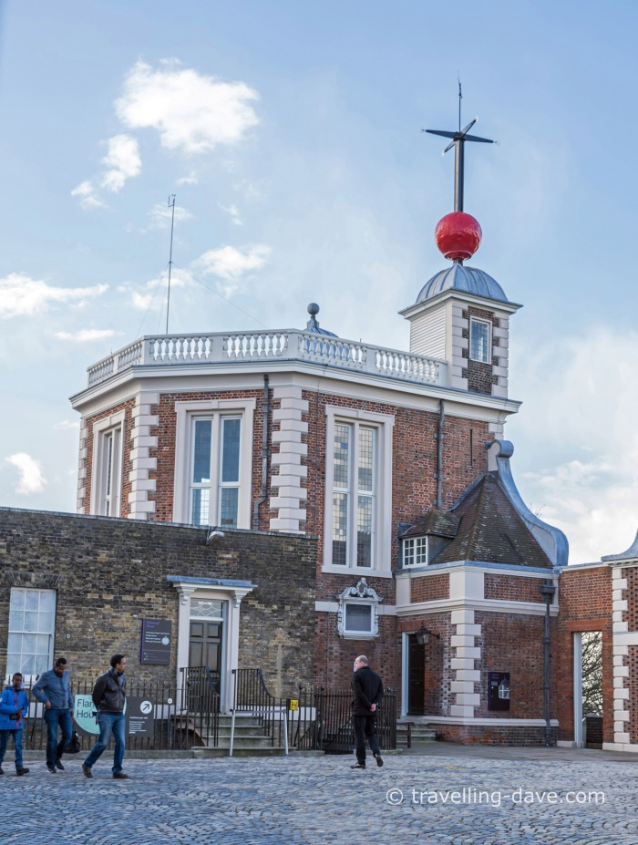 View of Greenwich Royal Observatory