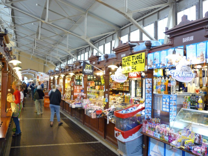 Inside Helsinki Old Market Hall