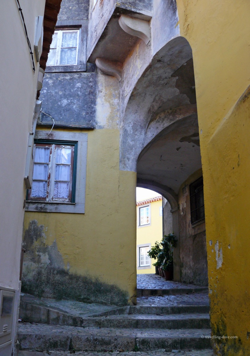 Archway and steps in Sintra