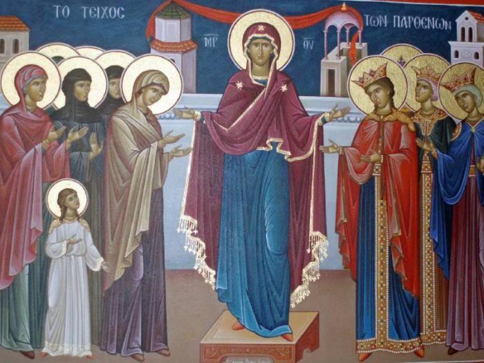 Meteora Monastery painting