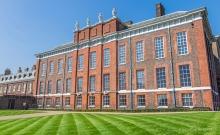 The green lawn at Kensington Palace