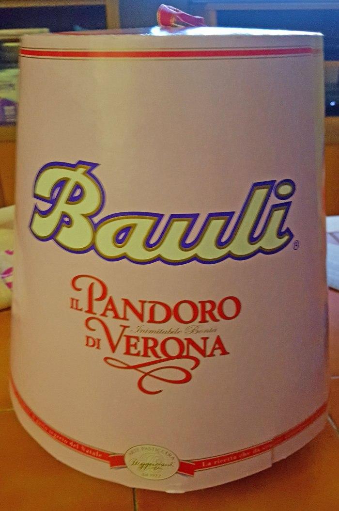 Verona famous Pandoro Bauli