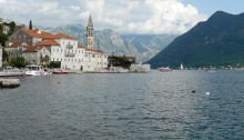 The small village of Perast