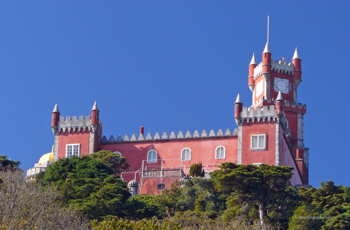 One of Pena National Palace buildings