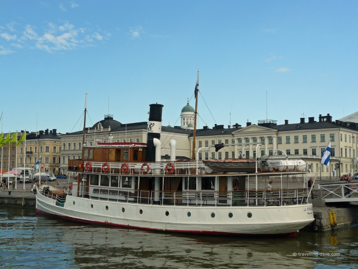 Boat connecting Helsinki with Porvoo