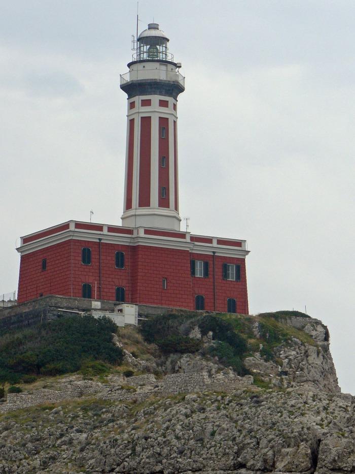 Capri's Punta Carena lighthouse