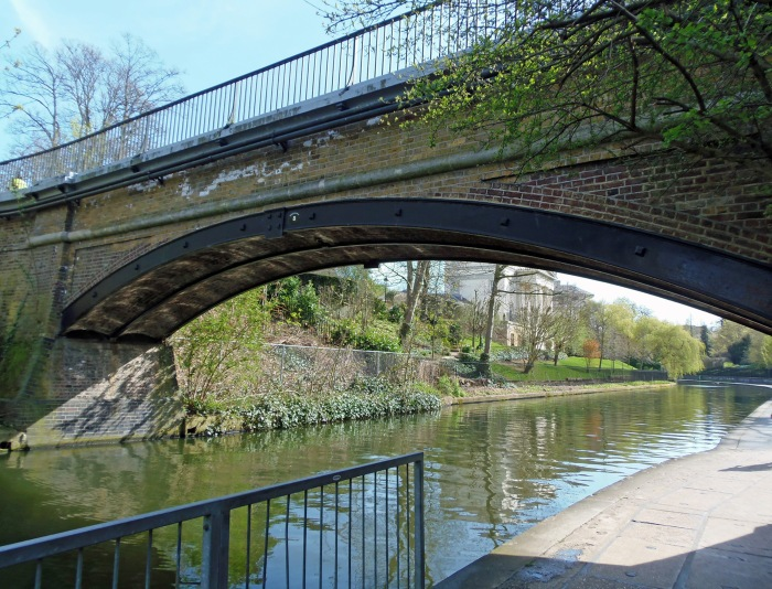 A bridge over Regent's Canal in London