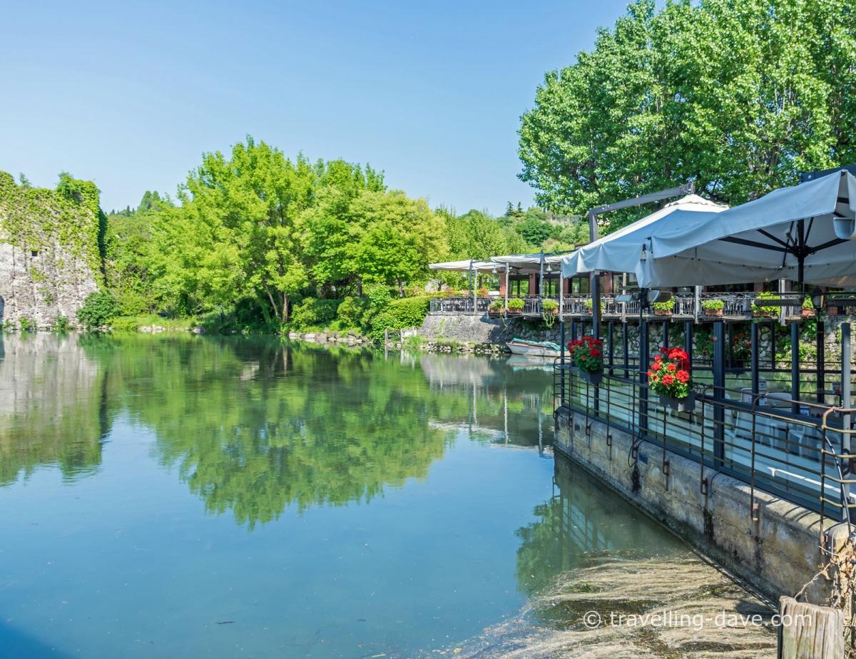 Restaurants with a view in Borghetto sul Mincio