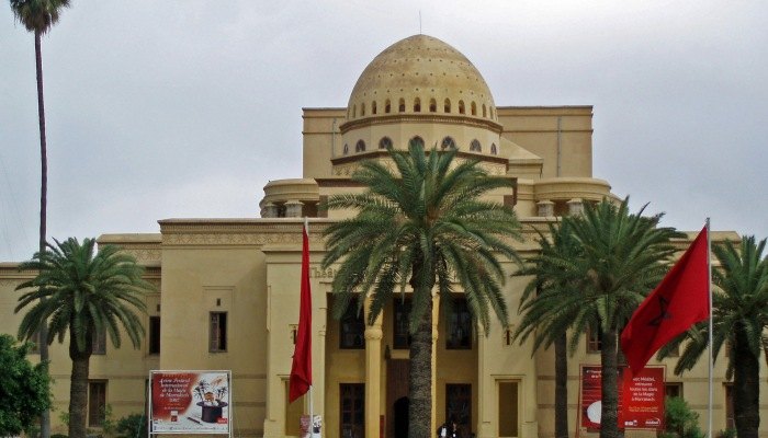 View of Marrakech Royal Opera House