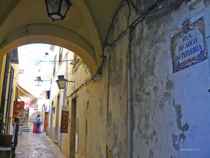 A street in Sintra old town