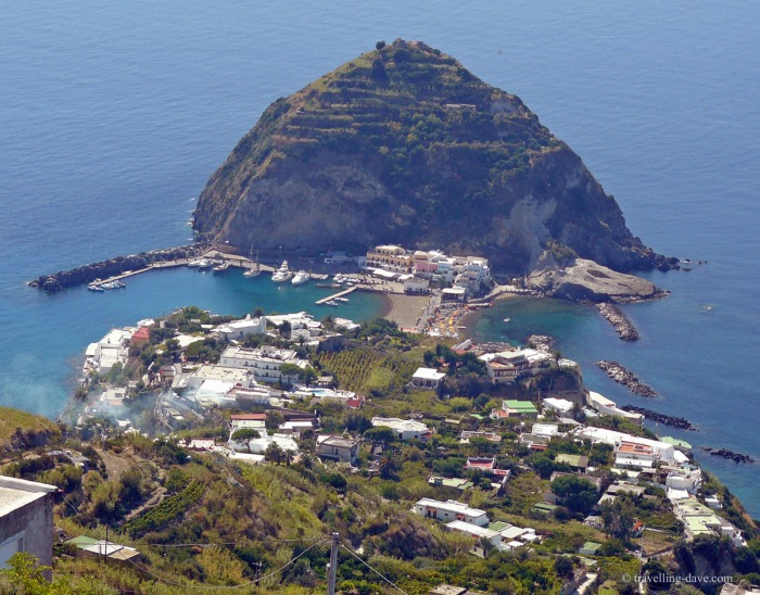 The village of Sant'Angelo on Ischia