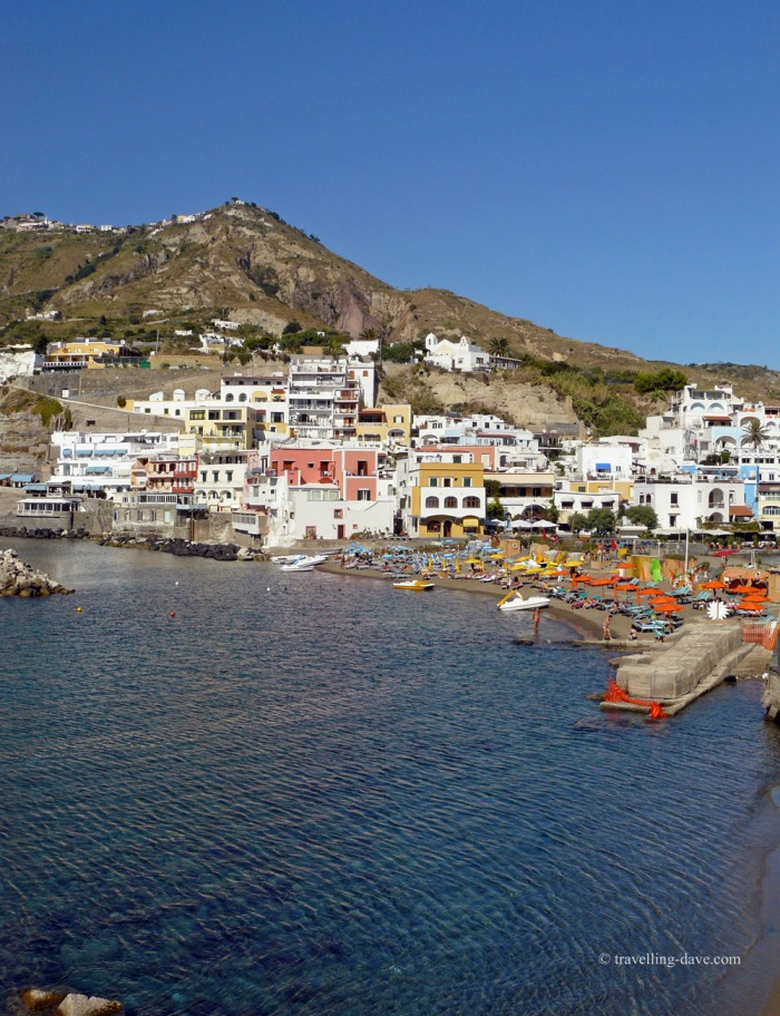View of the village of Sant'Angelo on the island of Ischia